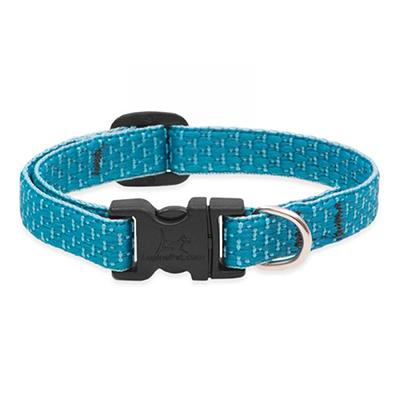 Lupine Nylon Dog Collar Adjustable Eco Tropical Sea 8-12 1/2