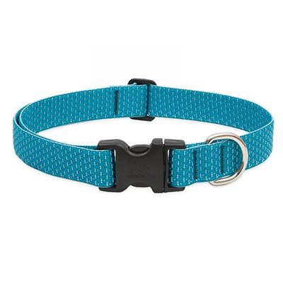 Lupine Nylon Dog Collar Adjustable Eco Tropical Sea 12-20