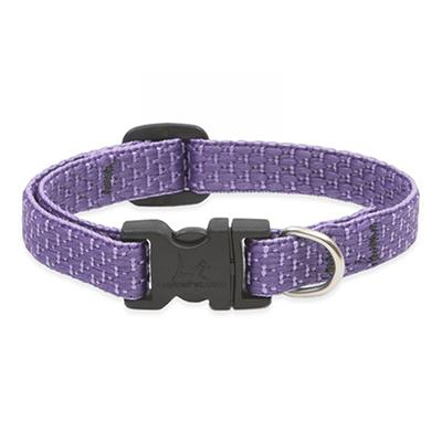 Lupine Nylon Dog Collar Adjustable Eco Lilac 10-16