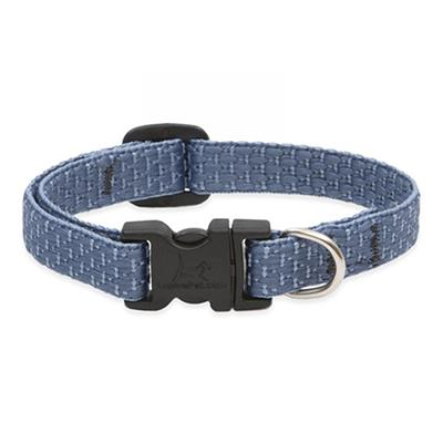 Lupine Nylon Dog Collar Adjustable Eco Mountain Lake 8-12