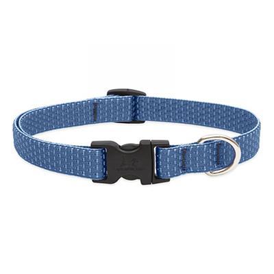 Lupine Nylon Dog Collar Adjustable Eco Mountain Lake 9-14