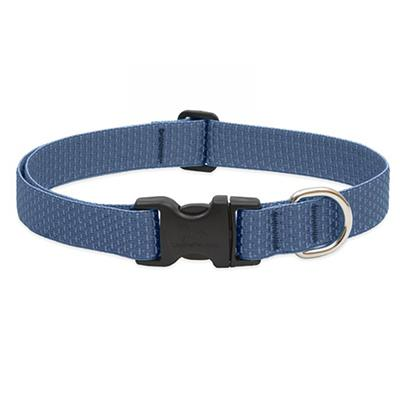 Lupine Nylon Dog Collar Adjustable Eco Mountain Lake 12-20