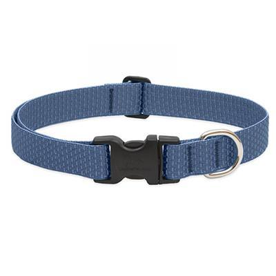 Lupine Nylon Dog Collar Adjustable Eco Mountain Lake 16-28