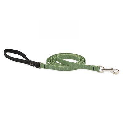 Lupine Dog Leash 6-foot x 1/2-inch Eco Moss Click for larger image