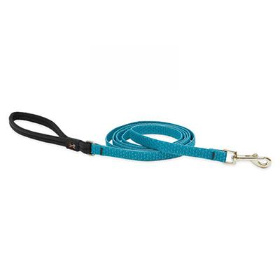 Lupine Dog Leash 6-foot x 1/2-inch Eco Tropical Sea