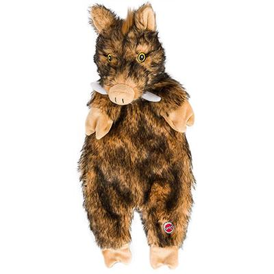 Furrz Boar Stuffing-Free 20-inch Plush Toy for Dogs