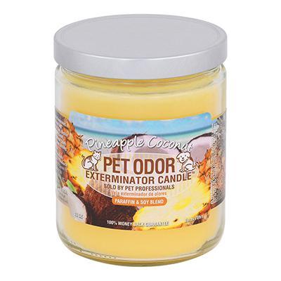 Pet Odor Eliminator Pineapple Cocconut Candle