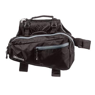 Canine Equipment Ultimate Trail Pack for Dogs Black Small