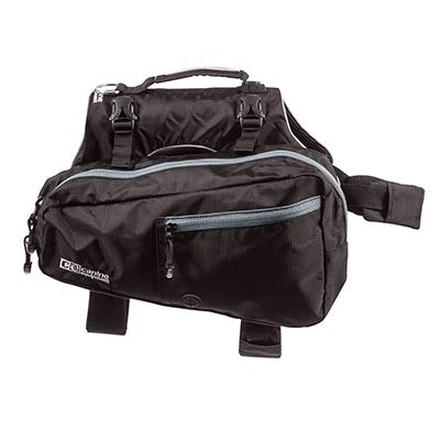 Canine Equipment Ultimate Trail Pack for Dogs Black Medium
