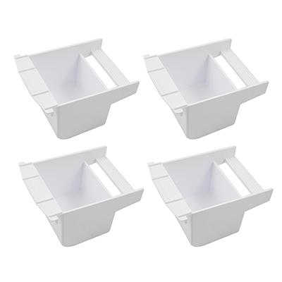 Cup Large Plastic Bird Food Water Dish 4 Pack