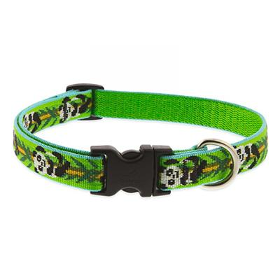 Dog Collar Adjustable Nylon Panda Land 13-22 3/4 inch wide