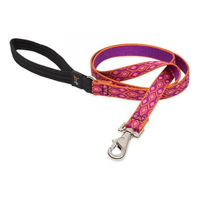 Lupine Dog Leash 4-foot x 3/4-inch Alpen Glow