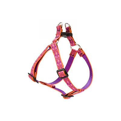 Nylon Dog Harness Step In Alpen Glow 10-13 inches