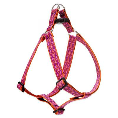 Nylon Dog Harness Step In Alpen Glow 24-38 inches