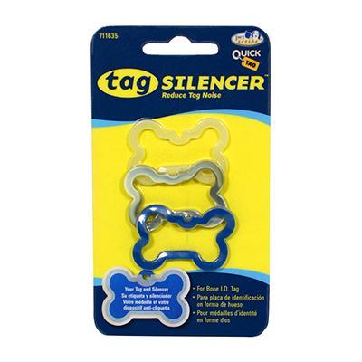 Dog Tag Silencer Large Bone Shape MultiPack Click for larger image