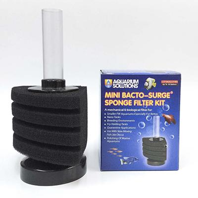 Aquarium Solutions 10 Gallon Sponge Filter Click for larger image
