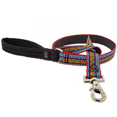 Lupine Nylon Dog Leash 6-foot x 1-inch El Paso Click for larger image