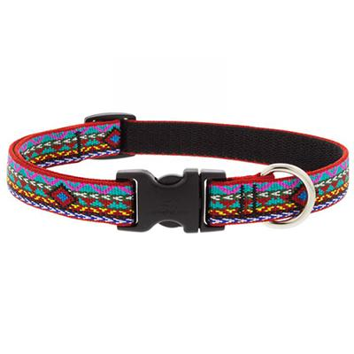 Dog Collar Adjustable Nylon El Paso 9-14 3/4 inch wide Click for larger image