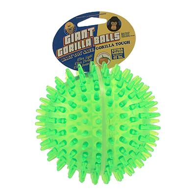 Petsport Gorilla Ball XL Dog Toy (Colors Vary) Click for larger image