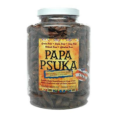 Koda Pet Papa Psuka Natural Beef Dog Treats 24oz Click for larger image
