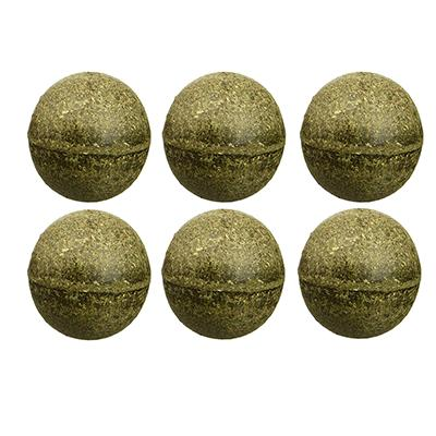 Pawbreakers! All-Natural Catnip Edible Ball Cat Treat 6 Pack Click for larger image