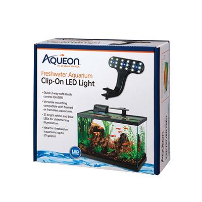 Aqueon Freshwater LED Clip Light Click for larger image