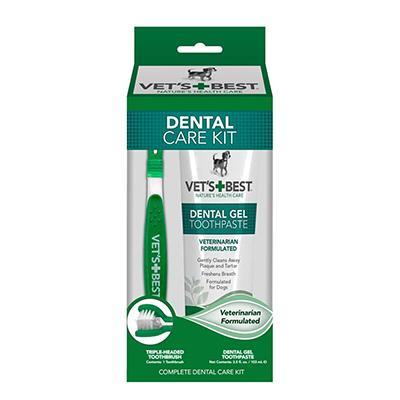 Vets Best Dog Dental Kit 3.5oz Click for larger image