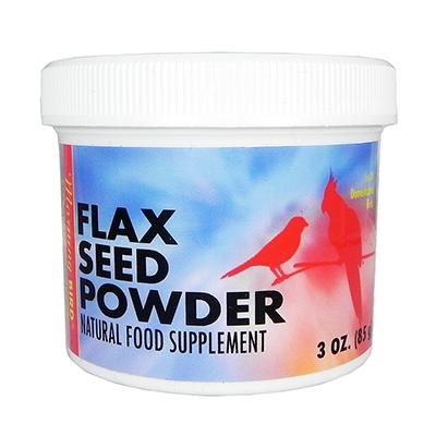 Morning Bird Powdered Flax Seed Supplement for Birds 3oz