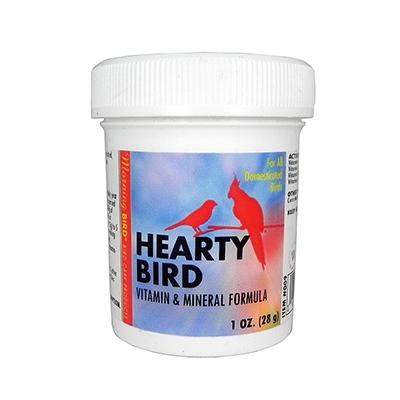 Morning Bird Hearty Bird vitamin and Mineral Powder 1oz Click for larger image