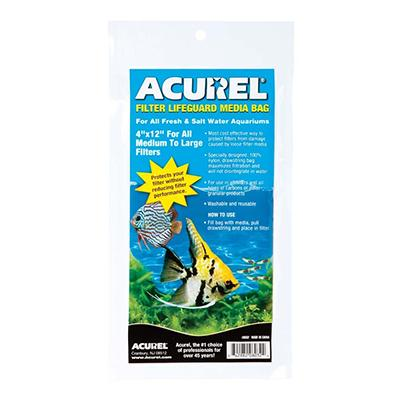 Acurel Mesh Aquarium Filter Saver Bag Medium 4 x 12-inch