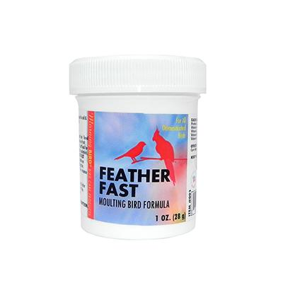 Morning Bird Feather Fast Powder 1oz For Moulting Birds Click for larger image