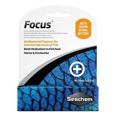 SeaChem Focus Aquarium Medication 5gm Click for larger image