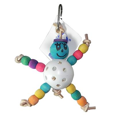 Jolly BaBa Ball Small Made in USA Bird Toy Click for larger image