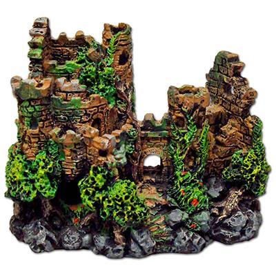 Forgotten Ruins Crubmling Castle Aquarium Ornament