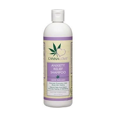 CannaLove Hemp Anxiety Relief Dog Shampoo 16oz