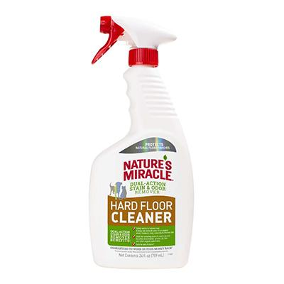 Natures Miracle Hard Floor 24 ounce Stain and Odor Remover Click for larger image