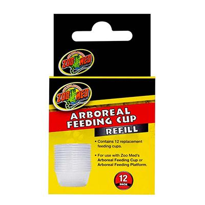 ZooMed Arboreal Feeding Cup Refill 12pk Click for larger image