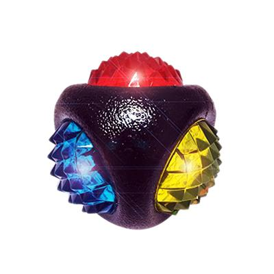 Doglucent TPR Dental Diamond LED Ball for Dogs Click for larger image