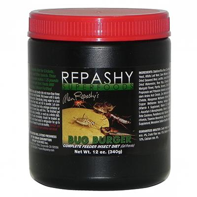 Repashy Bug Burger Feeder Insect Diet 12oz Click for larger image
