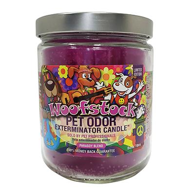 Pet Odor Eliminator Woofstock Candle