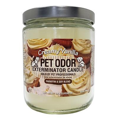 Pet Odor Eliminator Creamy Vanillaf Candle Click for larger image