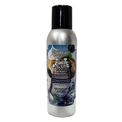 Pet Odor Eliminator Air Freshener Blueberry Cobbler 7oz.