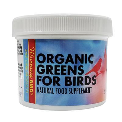 Morning Bird Organic Bird Greens Supplement for Birds 3oz Click for larger image