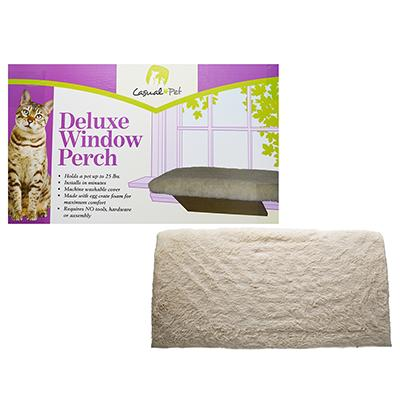 Casual Pet Window Perch for Cats and Dogs up to 25Lbs. Click for larger image