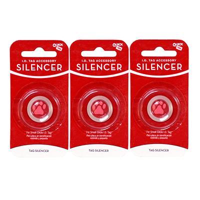 Dog Tag Silencer Circle Small 3 Pack Click for larger image