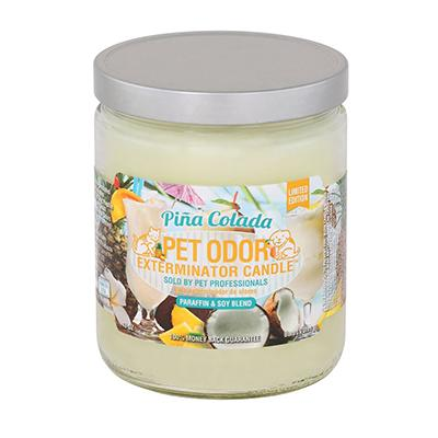 Pet Odor Pina Colada Candle Click for larger image