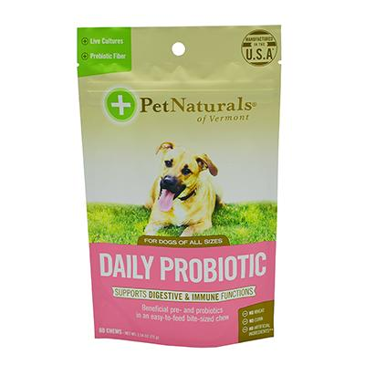 Pet Naturals of Vermont Daily Probiotic Chews 60ct for Dogs Click for larger image