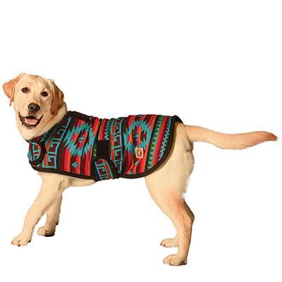 Handmade Dog Blanket Dog Coat Desert Rose Medium Click for larger image