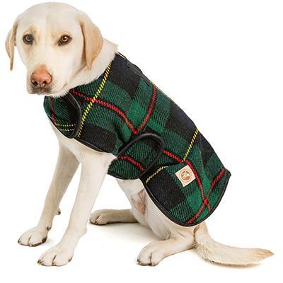 Handmade Dog Blanket Dog Coat Navy Tartan XXLarge Click for larger image