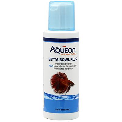 Aqueon Betta Bowl Plus Water Conditioner 4oz Click for larger image